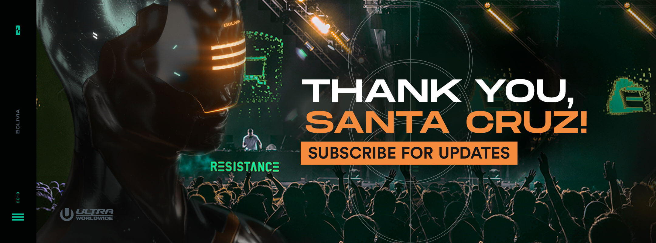 Subscribe for Updates for RESISTANCE Santa Cruz