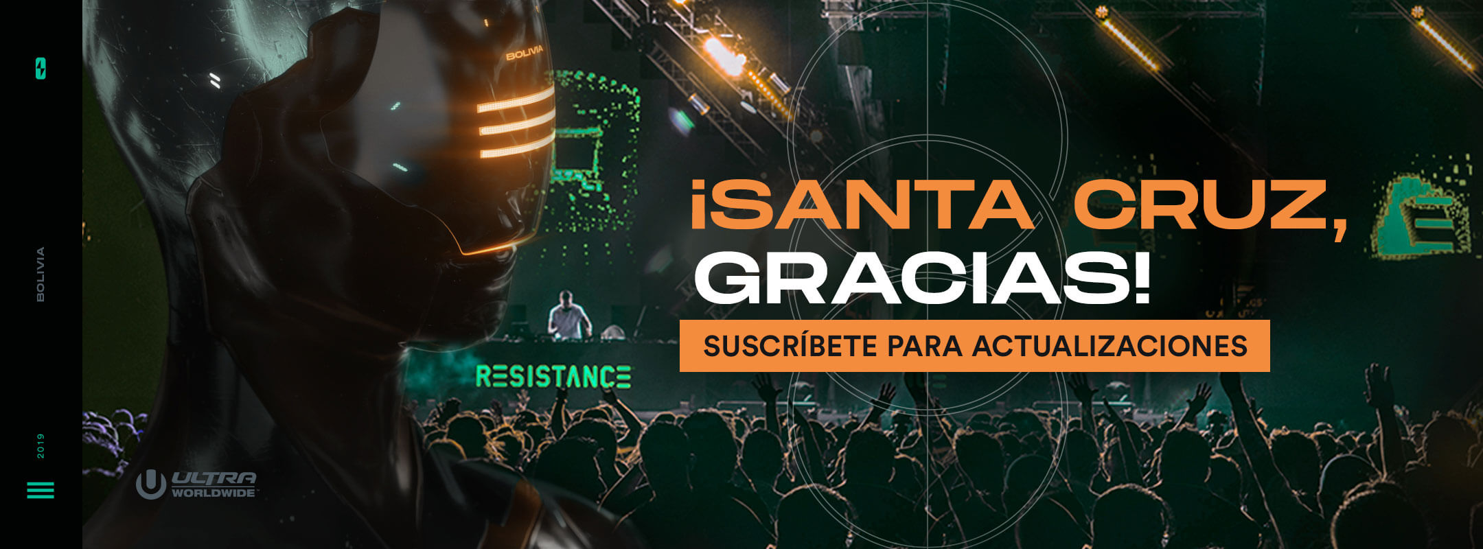 Recibe actualizaciones de RESISTANCE Santa Cruz